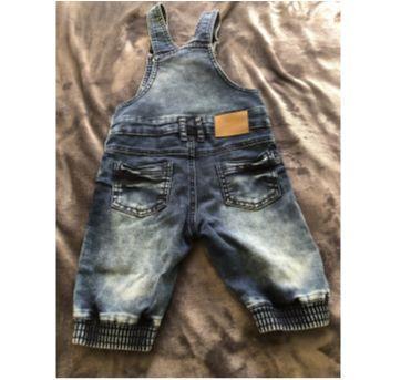 macacão jeans menino - 2 anos - Planet Kids