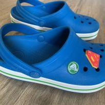 Crocs azul tamanho 30/31 - 30 - Crocs