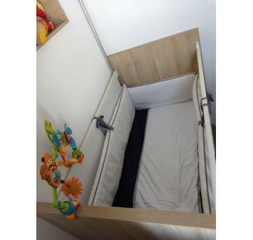 Berço cama 4 em 1 - Entrego montado na cidade de São Paulo - Sem faixa etaria - Não informada