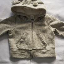 Moletom com capuz Gap Baby - 0 a 3 meses - Baby Gap
