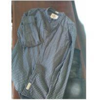 Camisa Hollister Xadrez - 14 anos - Hollister