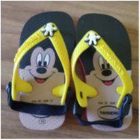 Chinelo Havaianas Mickey - 19 - Havaianas