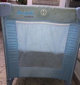 Bercinho portátil muito útil (Mini berço Burigotto) - Sem faixa etaria - Burigotto