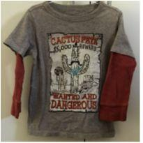 Camiseta manga longa Gap - 3 anos - Baby Gap