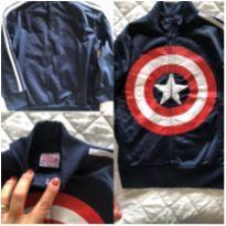 Casaco Marvel - Capitão América - 4 anos - MARVEL