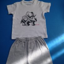 Pijama Dinossauro - 12 a 18 meses - Accessories