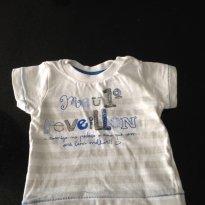 Camisa meu primeiro reveillon - 0 a 3 meses - teddy boom