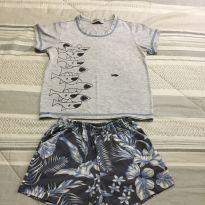 Pijama infantil menino tamanho 3anos - 3 anos - Não informada