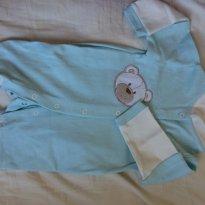 Macacão Malha - 3 meses - Alô bebê