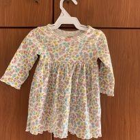 Vestido florido carter's - 3 meses - Carter`s