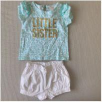 Conjunto carter's little sister - 0 a 3 meses - Carter`s e Child of Mine