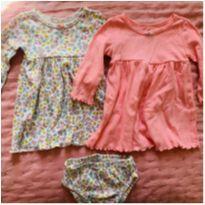 Conjunto vestidos carter`s - 3 meses - Carter`s