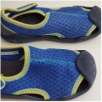 Sandalia Crocs Menino - Azul Como Nova! (tam. 27/28) - 27 - Crocs