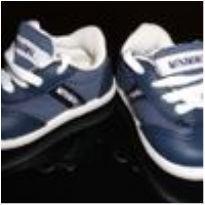 Tenis bebê Minimimo - azul (tam. 17)