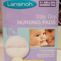 Absorvente para seios Lansinoh Stay Dry - caixa com 60 unidades -  - Lansinoh