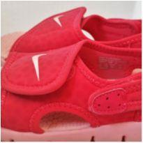 Sandalia Nike Sunray Adjust 4 Coral - tam. 24