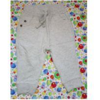 Calça moletom cinza mescla - 3 a 6 meses - Teddy Boom