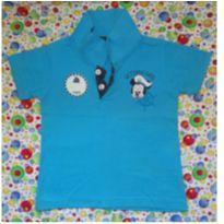 Polo Azul Mickey Marinheiro - 9 meses - Disney baby