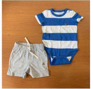 Conjunto baby GAP - 12 a 18 meses - Baby Gap e GAP