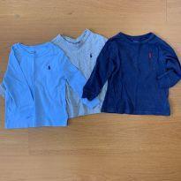 Trio camisetas Ralph Lauren - 18 meses - Ralph Lauren