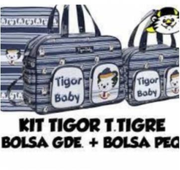 Kit bolsa maternidade Tigor - Sem faixa etaria - Tigor T.  Tigre