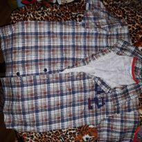 Camisa Xadrez - 4 anos - Duduka