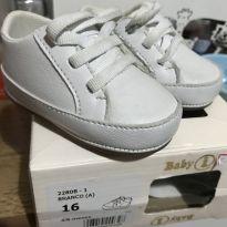 Tenis branco - 16 - Baby