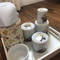 Kit Higiene Porcelana Safári -  - Não informada
