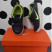 Tênis Nike Infantil Menino Pico Masculino Azul Ft Original - 25 - Nike
