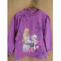 Blusa de Moletom- Barbie ♥ - 12 anos - Barbie