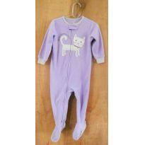 Macacão Pijama - Gatinha - 18 a 24 meses - Carter`s