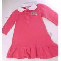 Vestido Manga Longa! - 6 a 9 meses - Bambini