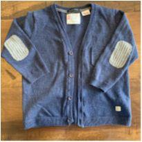 Cardigan azul marinho Zara