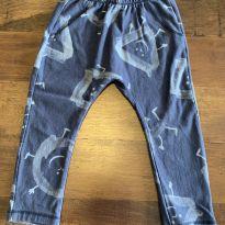 Calça azul estampada Zara - 18 a 24 meses - Zara Baby