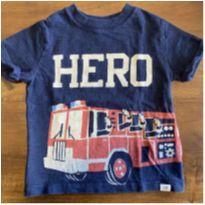 Camiseta bombeiro gap - 18 a 24 meses - Baby Gap