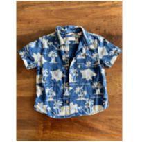 Camisa de linho Zara baby