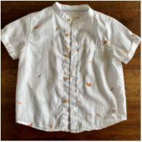 Camisa passarinhos Zara baby - 18 a 24 meses - Zara Baby