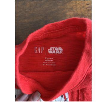 Camiseta Star Wars baby gap - 2 anos - Baby Gap