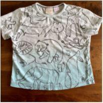 Camiseta Zara degrade bichos - 18 a 24 meses - Zara Baby