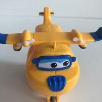 Avião donnie do super wings com fricção -  - Outras