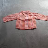 Camisa xadrez fofinha - 3 a 6 meses - OshKosh