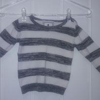 Suéter listrado - 12 a 18 meses - Baby Club