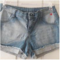 Shorts jeans - 8 anos - Hering Kids