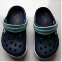 Crocband ll Kids. - Azul marinho & Azul Claro - C6-C7 - 25 - Crocs