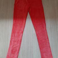 Calça legging estriada - 10 anos - Hering