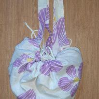 Bolsa de praia que vira toalha