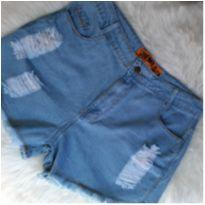Shorts jeans destroyer - G - 44 - 46 - Outras