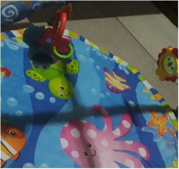 Tapete interativo para bebê - Sem faixa etaria - rihappy