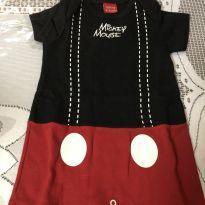 Macacão Mickey - 3 a 6 meses - Disney