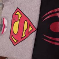 dois moletons de super hherois - 7 anos - DC Comics